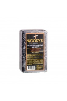 Woody's - Activated Charcoal Bar Soap - 8oz / 227g