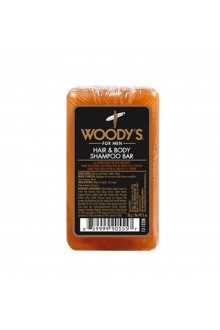 Woody's - Hair and Body Shampoo Bar - 3oz / 85g