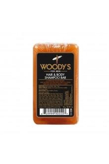 Woody's - Hair and Body Shampoo Bar - 3oz / 85g