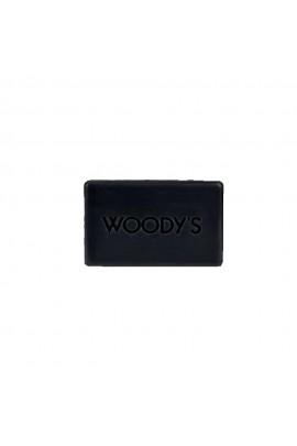 Woody's - Mini Charcoal Soap Bar - 3oz / 85g