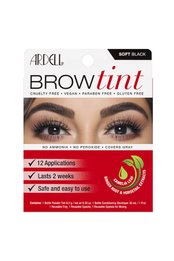Ardell - Brow tint - Soft Black - 8.5 g