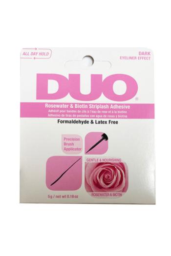 Duo - Biotin Rose Striplash Adhesive - Dark - 5 g