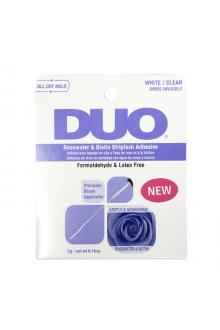 Duo - Biotin Rose Striplash Adhesive - White / Clear - 5 g