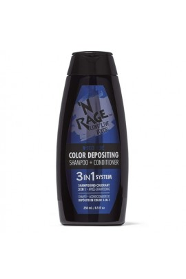 Ardell N'Rage - Color Depositing Shampoo + Conditioner - N-Digo Blue - 250mL / 8.5oz