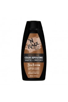 Ardell N'Rage - Color Depositing Shampoo + Conditioner - N-Ergized Brown - 250mL / 8.5oz