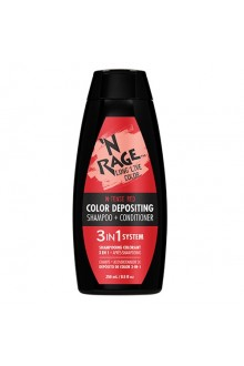 Ardell N'Rage - Color Depositing Shampoo + Conditioner - N-Tense Red - 250mL / 8.5oz