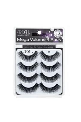 Ardell Mega Volume Eyelashes - #251 - 4 Pack