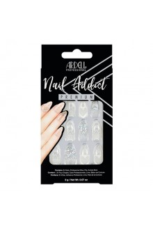 Ardell Nail Addict - Premium Artificial Nail Set - Glass Deco