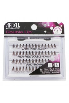 Ardell Double Up Individuals - Knot-free - Long Brown