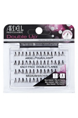 Ardell Double Up Individuals - Knot-free - Medium Brown