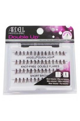 Ardell Double Up Individuals - Knot-free - Short Brown
