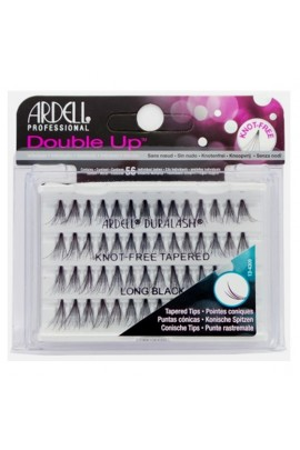 Ardell Double Up Soft Touch Individuals - Knot-free Tapered - Long Black