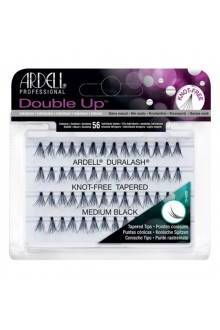 Ardell Double Up Soft Touch Individuals - Knot-free Tapered - Medium Black
