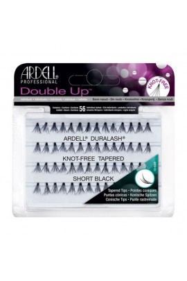Ardell Double Up Soft Touch Individuals - Knot-free Tapered - Short Black
