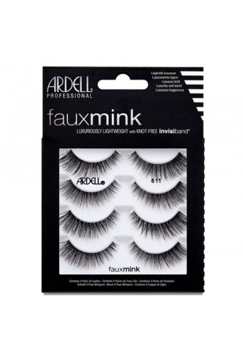 Ardell Faux Mink Lashes 4 Pack - 811