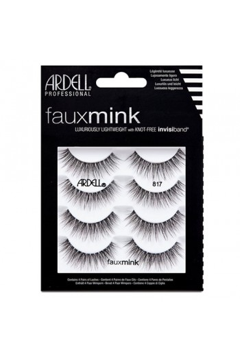 Ardell Faux Mink Lashes 4 Pack - 817