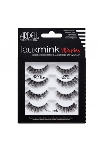 Ardell Faux Mink Lashes 4 Pack - Demi Wispies