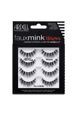 Ardell Faux Mink Lashes 4 Pack - Wispies