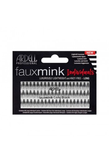 Ardell Faux Mink Lashes - Individuals - Long Black