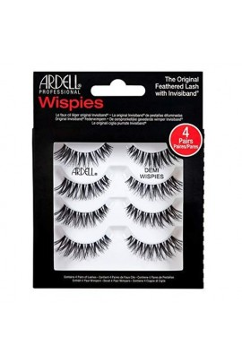 Ardell Natural Lashes 4 Pack - Demi Wispies Black