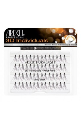Ardell 3D Individuals - Knot-Free - Long Black