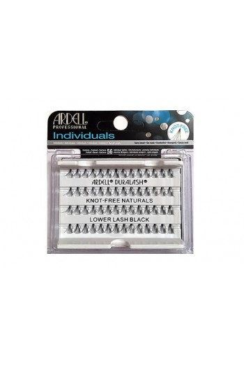 Ardell Individual - Knot-Free - Lower Lash - Black