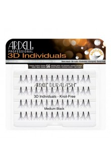 Ardell 3D Individuals - Knot-Free - Medium Black