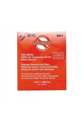 Ardell - Hair Color Additive - Unred - Single Packette