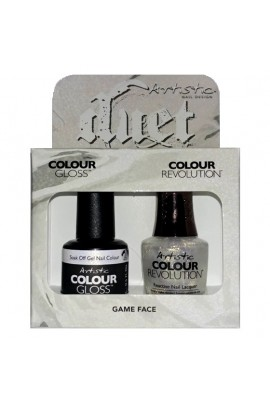 Artistic Nail Design - Duet Gel & Polish Duo - Game Face - 15 mL / 0.5 oz each