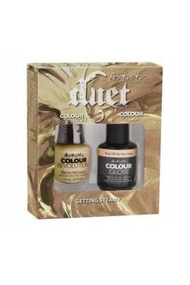 Artistic Nail Design - Duet Gel & Polish Duo - Getting Steamy - 15 mL / 0.5 oz