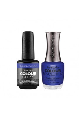Artistic Nail Design - Duet Gel & Polish Duo - Drop That Bass - 15 mL / 0.5 oz Each