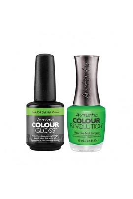 Artistic Nail Design - Duet Gel & Polish Duo - Let's Get Electric - 15 mL / 0.5 oz Each