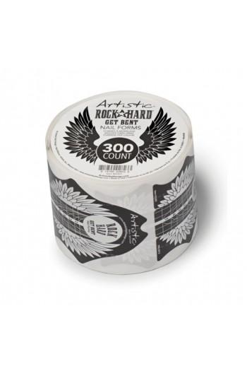 Artistic - Rock Hard - Get Bent Nail Forms - 300ct