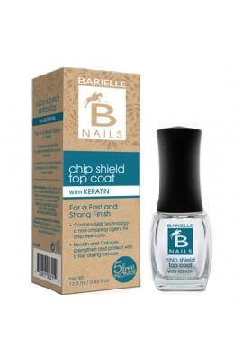 Barielle Nails - Chip Shield Top Coat with Keratin - 13.3 mL / 0.45 oz