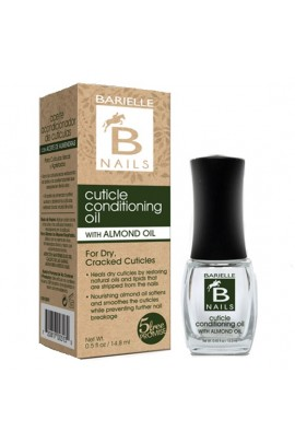 Barielle Nails - Cuticle Conditioning Oil with Almond Oil - 13.3 mL / 0.45 oz