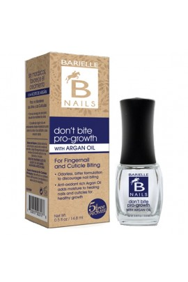 Barielle Nails - Don't Bite Pro-Growth with Argan Oil - 13.3 mL / 0.45 oz