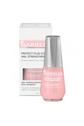 Barielle - Protect Plus Color Nail Strengthener - Pink - 14.8 mL / 0.5 oz