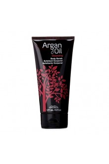 Body Drench Argan Oil - Cleansing Body Scrub - 6oz / 177mL