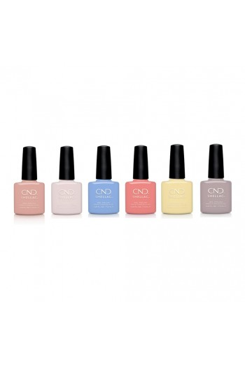 CND Shellac - The Colors Of You Collection - All 6 Colors - 0.25oz / 7.3ml Each