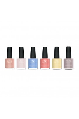 CND Vinylux - The Colors Of You Collection - All 6 Colors - 0.5oz / 15ml Each