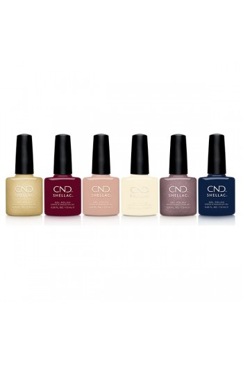 CND Shellac - Party Ready Collection - All 6 Colors - 0.25oz / 7.3ml Each