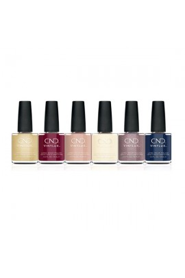 CND Vinylux - Party Ready Collection - All 6 Colors - 0.5oz / 15ml Each