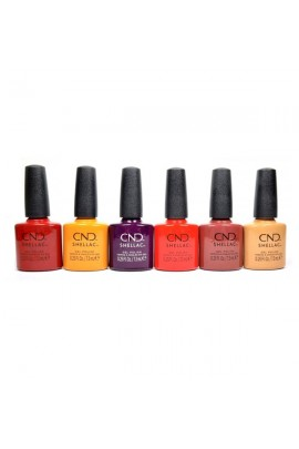 CND Shellac - Wild Romantics Collection - All 6 Colors - 0.25oz / 7.3ml Each