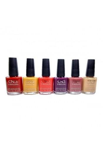 CND Vinylux - Wild Romantics Collection - All 6 Colors - 0.5oz / 15ml Each