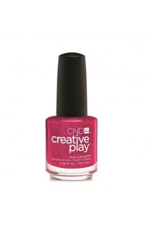 CND Creative Play Nail Lacquer - Cherry-glo-round - 0.46oz / 13.6ml