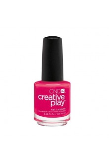 CND Creative Play Nail Lacquer - Fuchsia Fling - 0.46oz / 13.6ml