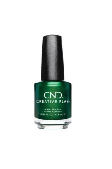 CND Creative Play Nail Lacquer - Green Scream - 0.46oz / 13.6ml
