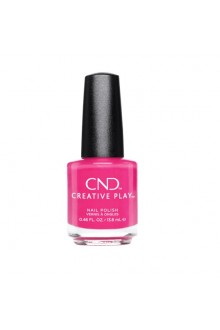 CND Creative Play Nail Lacquer - Magenta Pop - 0.46oz / 13.6ml