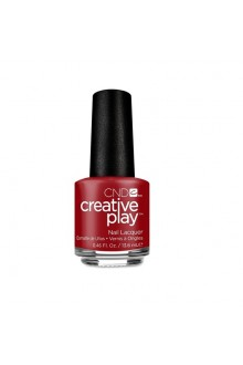CND Creative Play Nail Lacquer - Red Tie Affair - 0.46oz / 13.6ml
