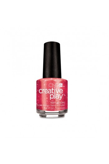 CND Creative Play Nail Lacquer - Revelry Red - 0.46oz / 13.6ml